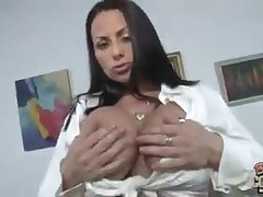 Big titted white mom interracial bbc gangbang