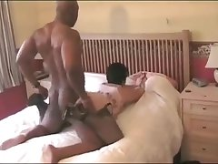 Hardcore bbc doggystyle for a mature white wife