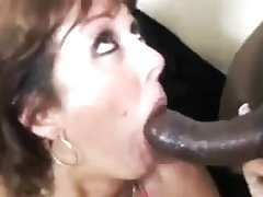 Black bulls gang fuck white mom feed her w cum